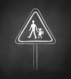 School warning sign Stock Photos