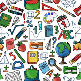 School white pattern Royalty Free Stock Photography