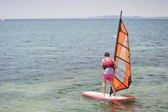 School of Windsurf Stock Photos