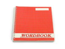School wordbook Royalty Free Stock Image