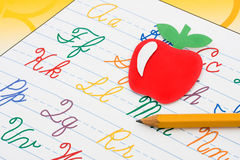 School Work Stock Photo