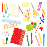 School Work Royalty Free Stock Photography