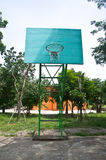 School yard basketball court Stock Photography