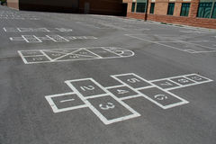School Yard Games Royalty Free Stock Image