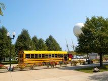 School Yellow Bus Stock Images
