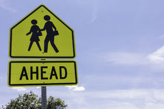 School Zone 3 stock images