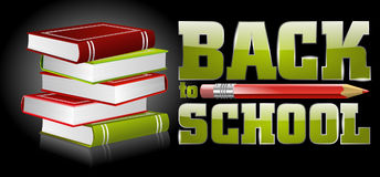 Schoolaffiche Stock Fotografie