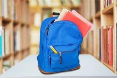schoolbag Photo libre de droits