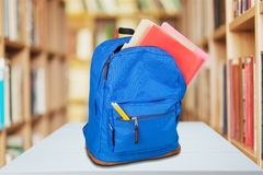 Schoolbag Royalty Free Stock Photo