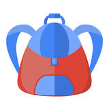 Schoolbag,  icon backpack Stock Images