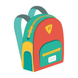 Schoolbag,  icon backpack Royalty Free Stock Photography