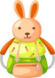 Schoolbag vector Stock Image