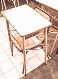 Schoolbank Stock Fotografie