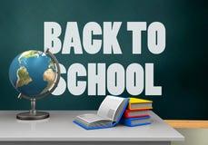 schoolboard 3d Fotos de archivo