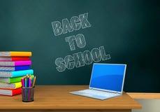 schoolboard 3d Foto de archivo