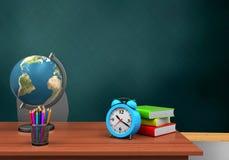 schoolboard 3d Fotografía de archivo libre de regalías