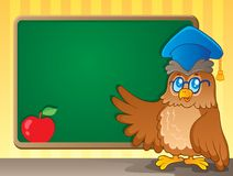 Schoolboard theme image 2 Royalty Free Stock Images