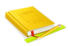 Schoolbook icon Stock Photo
