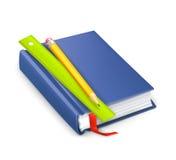Schoolbook wektoru ikona ilustracji