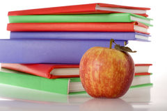 Schoolbooks Royalty Free Stock Photography
