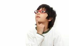 schoolboy γυαλιών Στοκ Εικόνες