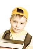 schoolboy κινηματογραφήσεων σε &pi Στοκ εικόνες με δικαίωμα ελεύθερης χρήσης