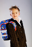 Schoolboy 1 Royalty Free Stock Photos