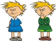 Schoolboy. School uniform, primary & elementary school, educational system Royalty Free Stock Photos