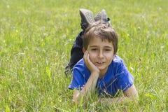 schoolboy Royaltyfri Foto