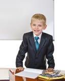 schoolboy royaltyfria foton