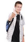 Schoolboy Stock Photography