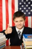 The schoolboy Stock Photos