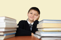 The schoolboy Royalty Free Stock Images