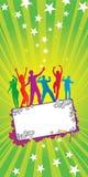 Celebration banner Royalty Free Stock Photos