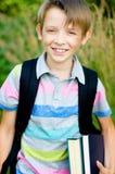 Schoolboy Stock Photography