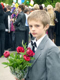 schoolboy för stående s arkivbilder