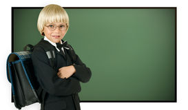 Schoolboy Royalty Free Stock Images