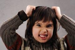 Schoolboy serie av den klyftiga ungen 6-7 gammala år Royaltyfria Bilder