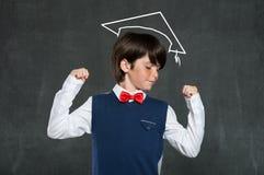 Schoolboy success Stock Photo
