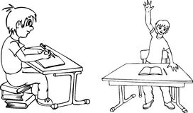 schoolboys ελεύθερη απεικόνιση δικαιώματος