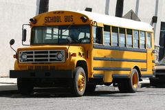 Schoolbus Photographie stock