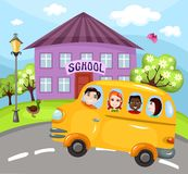 Schoolbus Royalty Free Stock Image