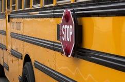 schoolbus Arkivbild