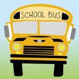 Schoolbus royalty-vrije illustratie