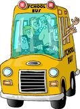 Schoolbus illustrazione di stock