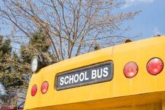 Schoolbus zdjęcia stock