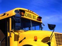 Schoolbus amarelo Fotografia de Stock Royalty Free