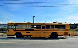 Schoolbus mágico foto de stock