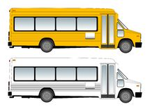 Schoolbus vector illustration Stock Photos
