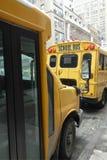 Schoolbussen Stock Foto